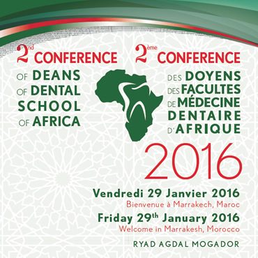 12nd conference for the deans of schools of dentistry in Africa